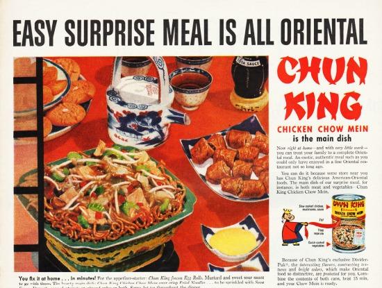 vintage food chung king ad