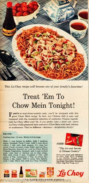 vintage Food La Choy ad