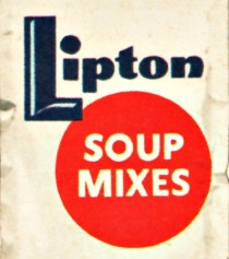 vintage liptons soup mix package