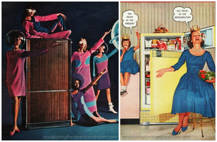 Kitchen Frigidaire Ads housewifes 1960-69