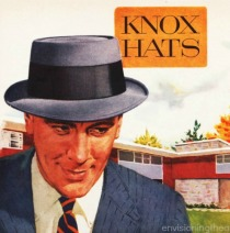 illustration man in hat