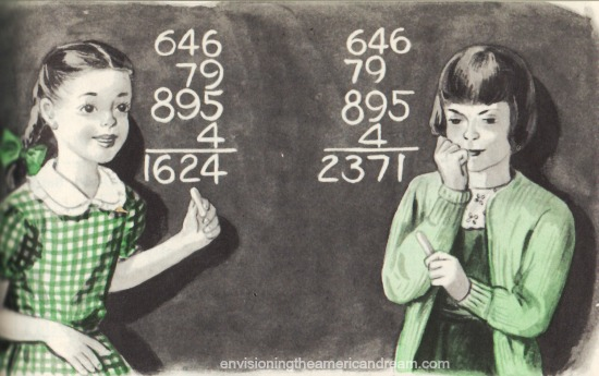 vintage schoolbook illustrations