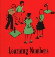 "Vintage School Book ""Learning Numbers "" 1952"