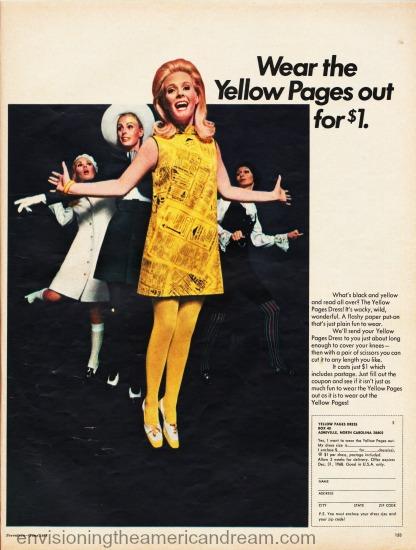 1960s fashions paper dress