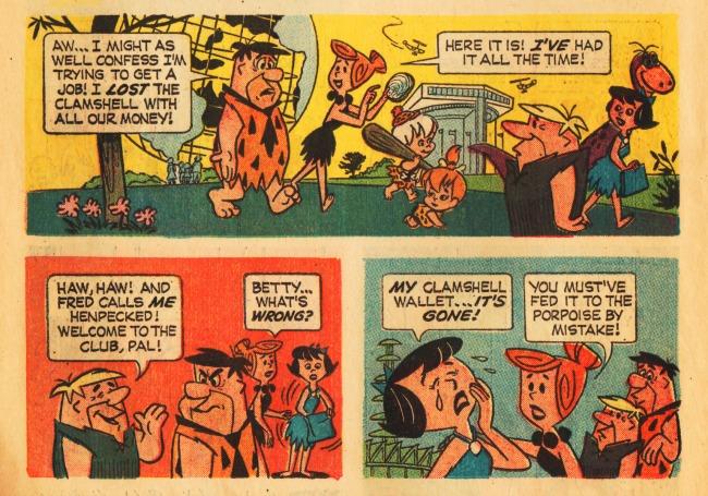 Worlds Fair 64 Flinstones comic