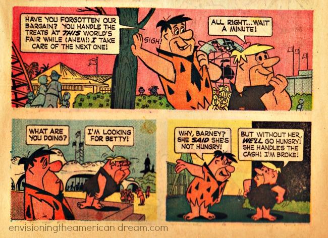 Worlds Fair 64 Flinstones comic book