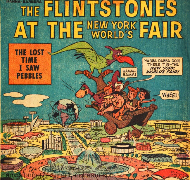 comic book Flinstones Worlds Fair 1964