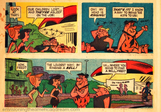 Worlds Fair 64 Flinstones comics   Wilma, Fred Betty Barney
