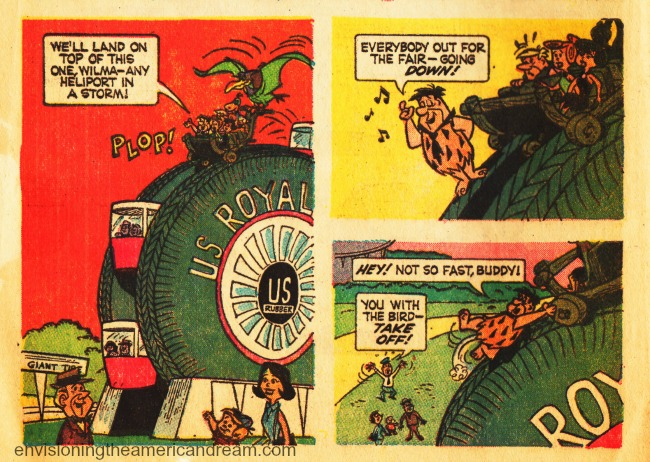 Worlds Fair 64 Flinstones comics US Royal Tire
