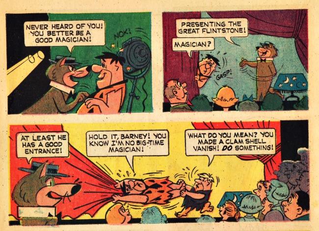 Worlds Fair 64 Flintstones Magic comic