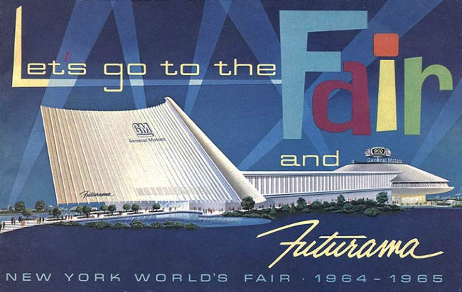 NY worlds fair 64  futurama