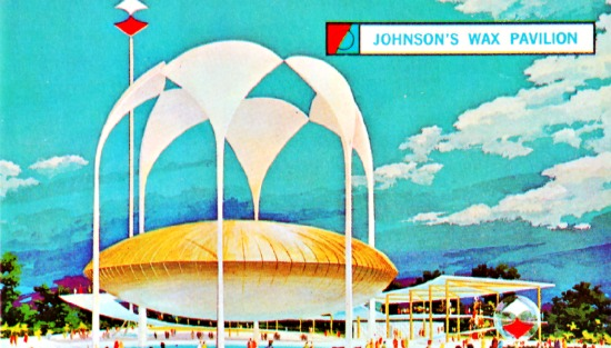 Worlds Fair 64 Johnsons Wax pavilion