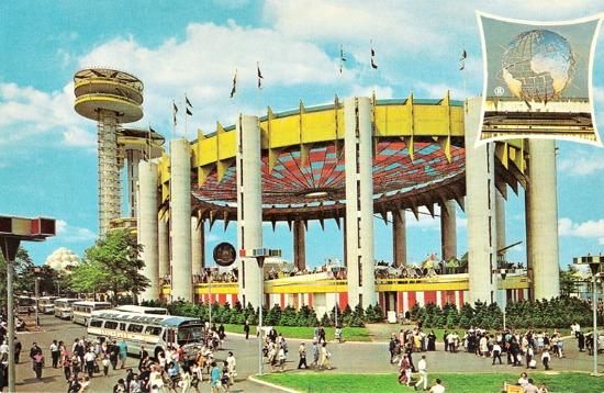 NY worlds fair 64 NY pavilion