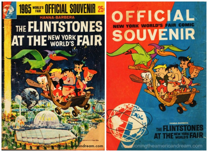 comic book NYWorlds Fair 65 Flinstones cartoons