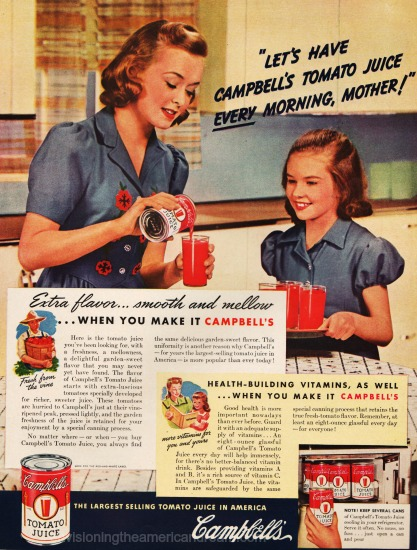 Mother Daughter Campbells  in kitchen 1942