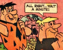 Worlds Fair Flintstones Comic