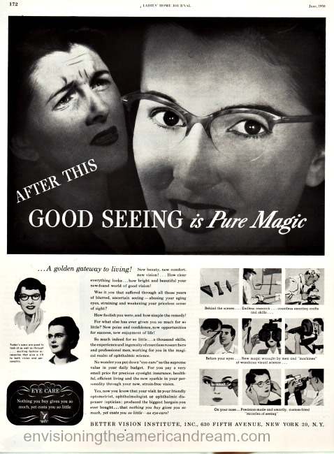 Better Vision Institute ad 1950