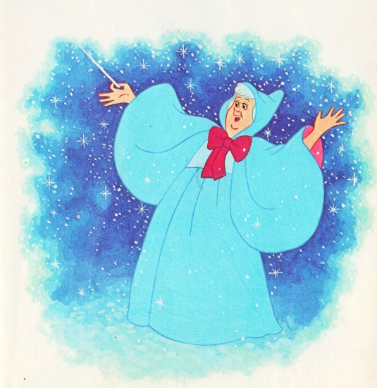 cinderella fairy godmother illustration