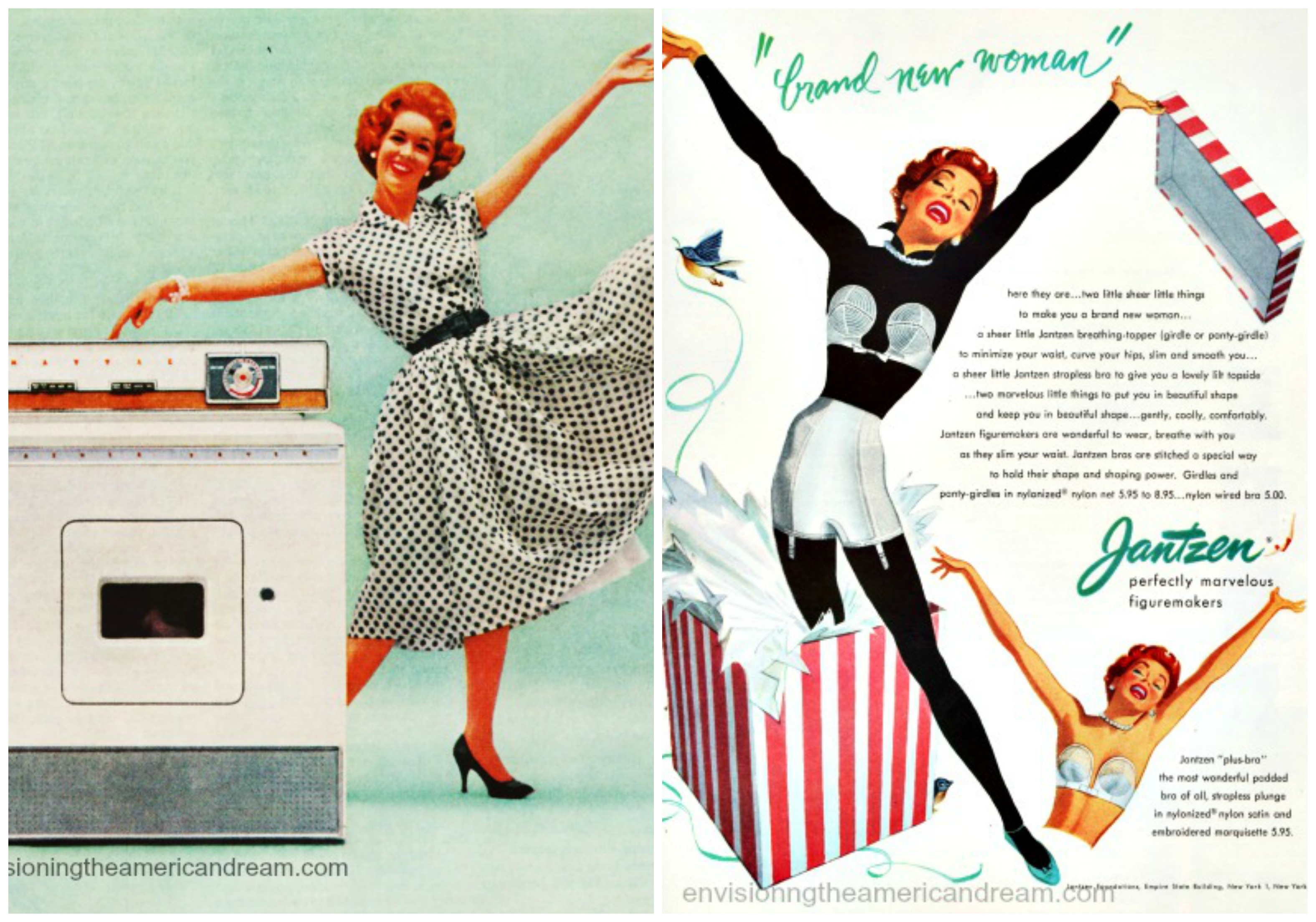 Housewives new freedom jump for joy l vintage ad maytag washer r