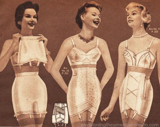 lingerie catalog 1950s