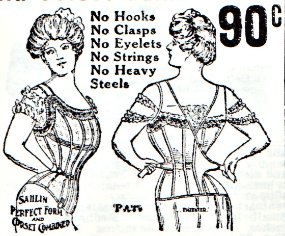 Vintage Corsets Illustration