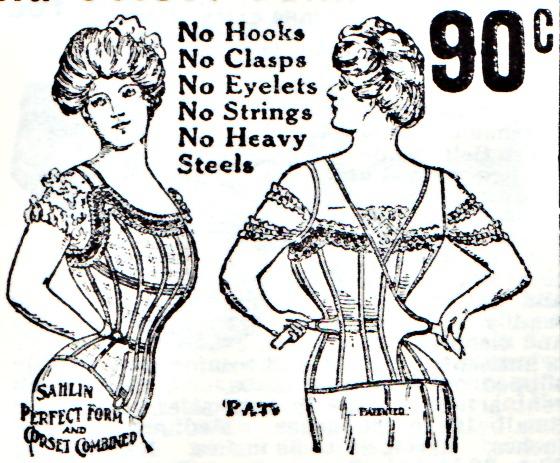 Vintage Corsets Illustration