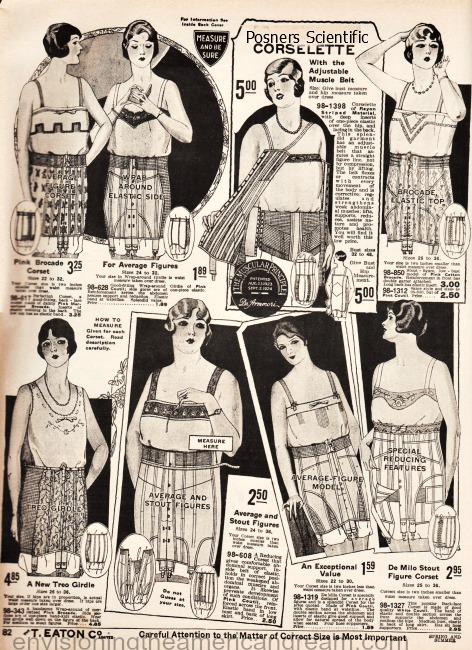 vintage lingerie corsets