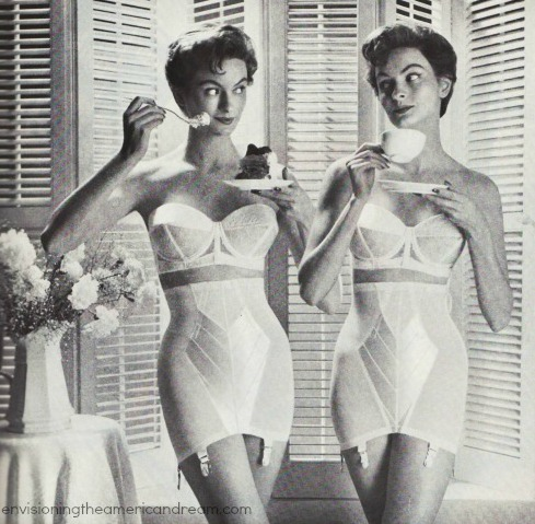 Vintage girdles and bras