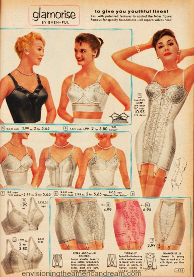 A Girl And Her Girdle Envisioning The American Dream