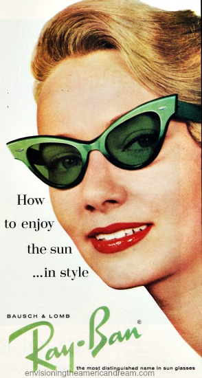 summer sunglasses ray bans ad