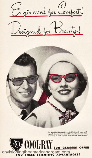 sunglasses ad 1948