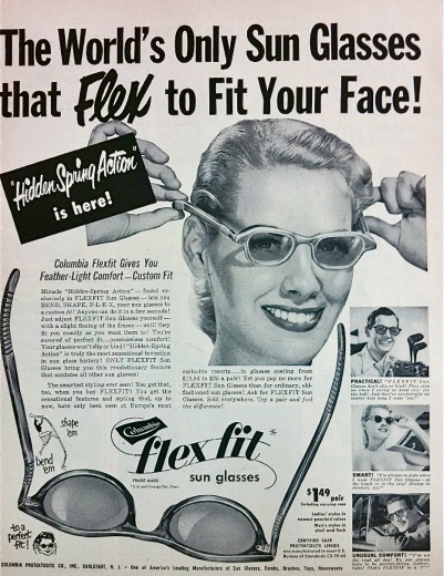 sunglasses flexfit ad