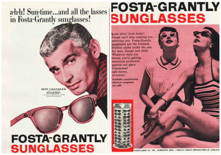 vintage Sunglasses Fosta-Grantly