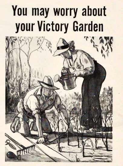 WWII Victory garden Texaco