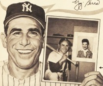 illustration Yogi Berra 1963
