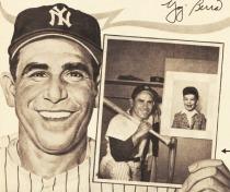 illustration Yogi Berra 1963