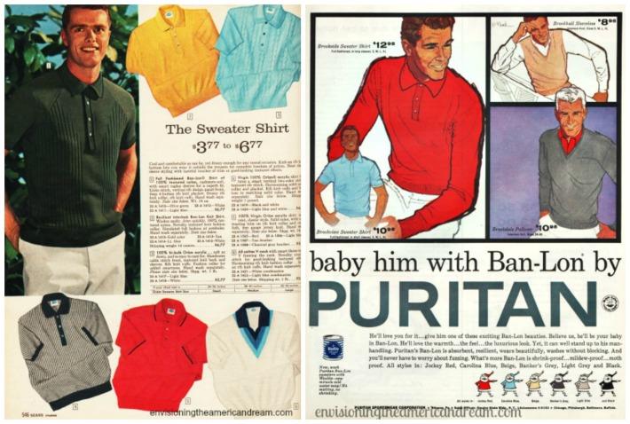 Vintage Fashion Ban-Lon Ads 1960