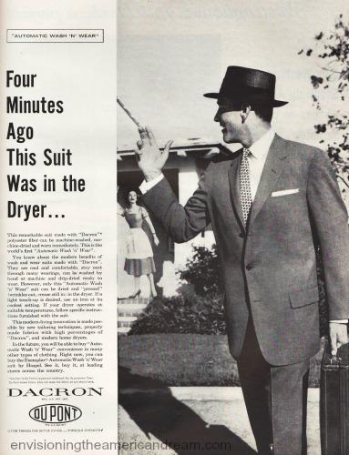 Vintage ad Dacron Suits 1957