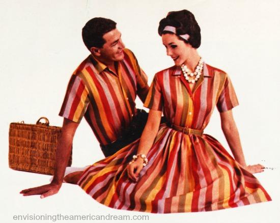 synthetics fashion stripes 1960s SWScan02268