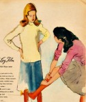 vintage ad Elizabeth Arden Velva FilmsallyedelsteinVintage ad Elizabeth Arden Velva Leg FilmWWII Stockings Shortage