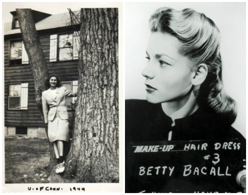 1944 Betty Coed and betty bacall