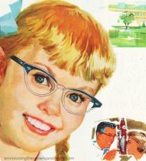 Vintage ad American Optical 1958
