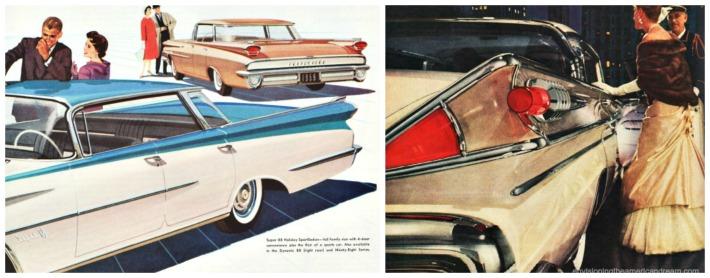 vintage cars ads 1950s