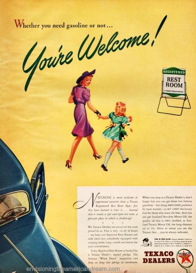 Vintage Texaco Ad 1941