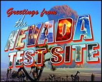 Nevada Test Site Postcard