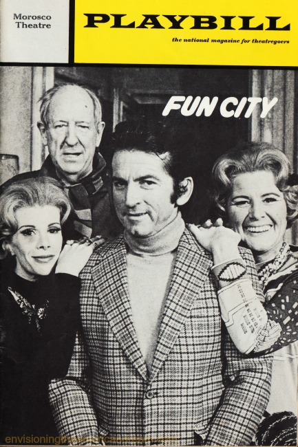 Broadway Playbill Joan Rivers Fun City