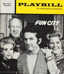 "Playbill Joan Rivers ""Fun City"" 1972"