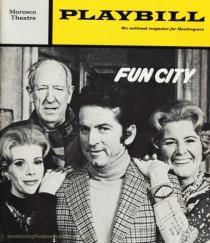 "Playbill Joan Rivers ""Fun City"" 1972"