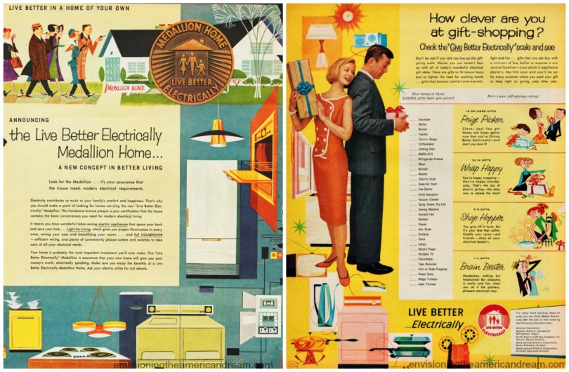Electric Live Better Electrically ads