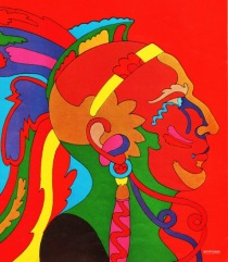 Indian Graphic Milton Glaser 1967